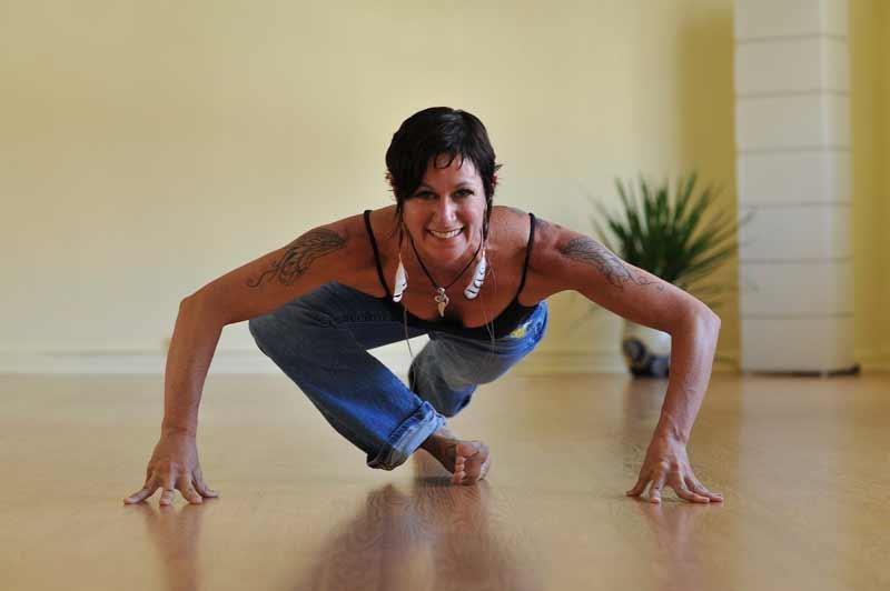 yoga instructor Heidi Michelle