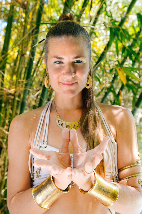 Danyasa Yoga Retreat Center owner and yoga teacher Sofiah Thom