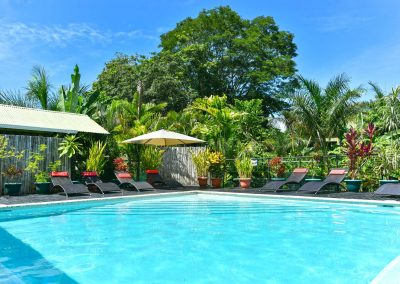 Photo of our Beautiful Pool at Danyasa Yoga Retreat and Eco-Lodge