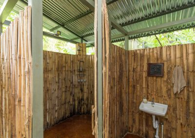Shared Shower Facilities at Danyasa Eco-Retreat