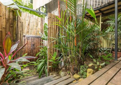 Step into one of our Jungle Showers at Danyasa Eco-Retreat in Costa Rica